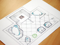 Bathroom planners collection of bathroom space planners for Planner bagno 3d