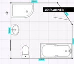 2D Watershed Bathrooms bath planner