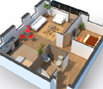 Roomle 3D Floorplanner